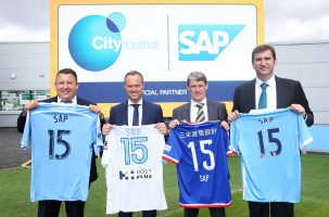 SAP and City Football Group Launch July 7th 2015