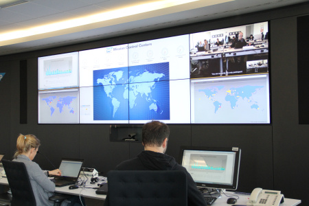 SAP Stock Footage - SAP ROT04 Mission Control Center St