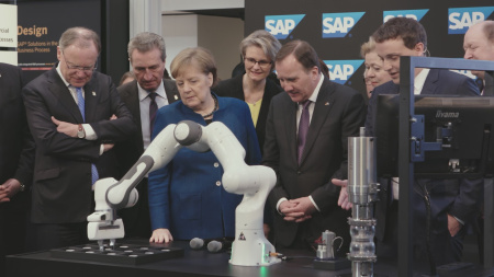 B-Roll SAP Hannover Messe 2019