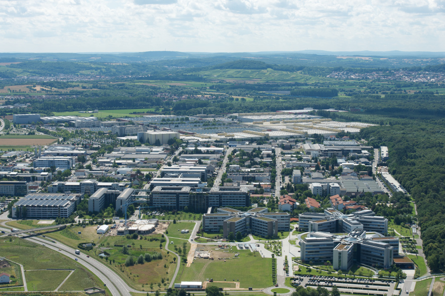 Walldorf Germany  City new picture : SAP Stock Footage SAP Locations Walldorf Aerial 2012 001