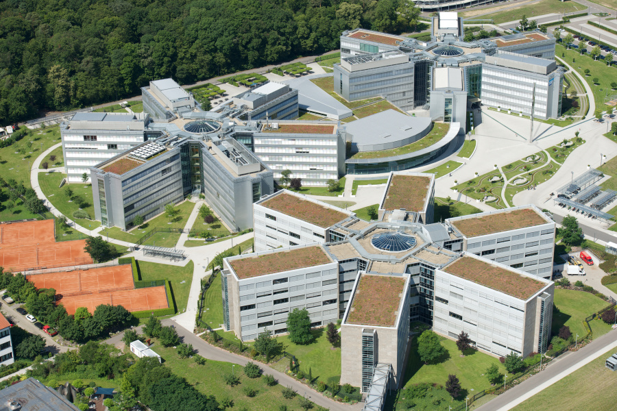 Walldorf Germany  city photos gallery : SAP Stock Footage SAP Locations Walldorf Aerial 2012 006